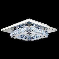 Modern Crystal LED Ceiling Light Pendant Lamp Fixture Lighting Chandelier