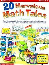 20 Marvelous Math Tales: Fun, Reproducible Stories with Companion Word Problems