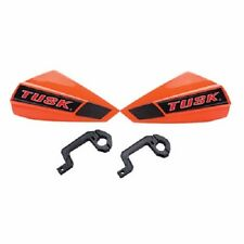 Tusk GP Motocross MX Handguards Orange SUZUKI roost hand guards shields dirt