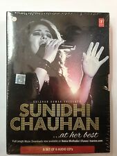 Sunidhi Chauhan At Her Best - 6 Audio CD Set - Official Bollywood Songs Boxset