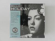 10 CD Set Billie Holiday Summertime Billie´s Blues Neu originalverpackt