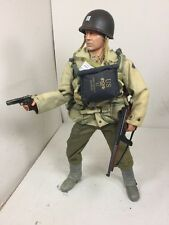 1/6 DRAGON US ARMY 2ND RANGER CAPT D-DAY OMAHA BEACH THOMPSON+COLT WW2 BBI DID
