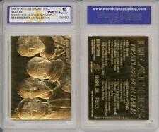 """BEATLES FOR SALE """"ALBUM COVER"""" """"LIMITED EDITION"""" WCG GEM-MT 10 23KT GOLD CARD!"""