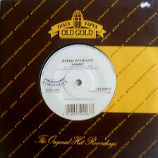"""7"""" 50s OLD GOLD M-? DEBBIE REYNOLDS Tammy + JANE MORGAN The Day The Rains Came"""