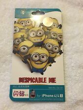 Despicable Me Front Back Skin Sticker Case Screen Protector Cover iPhone 4 4SNew
