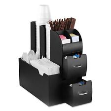 Coffee Stand Station Condiment Organizer Caddy Cup Lids Dispenser K Cups Holder