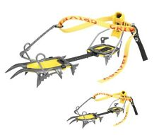 GRIVEL AIR TECH NEW CRAMP-O-MATIC CRAMPONS 10 + 2 ZAG CRAMPONS - STEEL