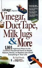 Yankee Magazine;s Vinegar, Duct Tape, Milk Jugs & More HC