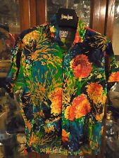 Jams World boys kid Shirt FABULOUS New NWT S SMALL Hawaiian FAB print  SEA LIFE