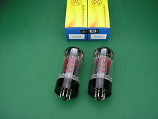 6550 JJ ELECTRONIC matched Pair (2 Stück) NEW ~ KT88