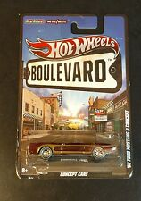 Hot Wheels Boulevard '63 Ford Mustang II Concept Metal Body Real Riders