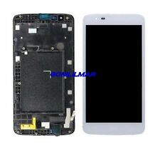 For LG Tribute 5 K7 LS675 MS330 LCD Screen Digitizer Touch assembly  Frame White