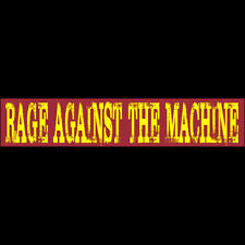 "RAGE AGAINST THE MACHINE Bumper Sticker  BUY 2 GET 1 FREE  Free Shipping ""RAGE"""