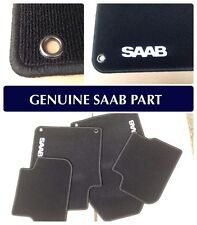 Genuine Saab 9-3 4 door/5 door MAT Set - 2003 -2012 - 12825833 BRAND NEW - BLACK