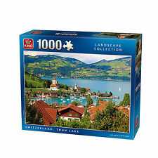 1000 PieceJigsaw Puzzle - Thun Lake Switzerland Landscape Scene 05355