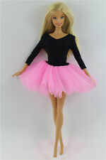 Fashion Handmade Ballet Dress/Clothes/Outfit For Barbie Doll L04