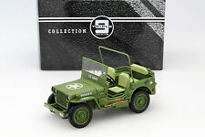 Jeep Willy's US Army Baujahr 1942 armee grün 1:18 Triple9