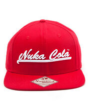 Fallout Nuka Cola Red Snapback Cap Hat | Official Gaming Merchandise [New]