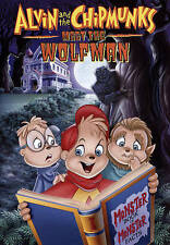 Alvin and the Chipmunks Meet the Wolfman New DVD,free shipping
