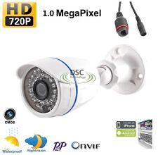 1.0MP 720P IP Camera P2P Onvif Outdoor Security Waterproof 36 IR Nightvision P2P