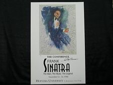 Leroy Neiman Signed Frank Sinatra The Conference Lithograph JSA I58769