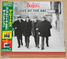 THE BEATLES - LIVE AT THE BBC: THE COLLECTION, 2013 JAPAN 4CD SET + POSTER! NEW!