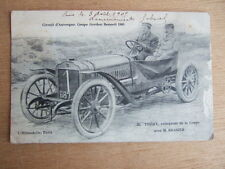 CPA AUTOMOBILE - CIRCUIT AUVERGNE COUPE GORDON BENNETT 1905 THERY et BRASIER