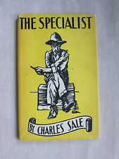 Old Little Book The Specialist by Charles Sale 1959 DJ  GC