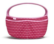 Built NY Baby Buddy Essential Neoprene Caddy Changing Bag Baby Pink Dot Tote