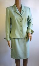 Escada Light Green Skirt Suit - Size 38/34