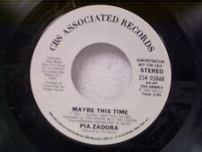 "PIA ZADORA ""MAYBE THIS TIME / SAME"" 45  MINT PROMO"