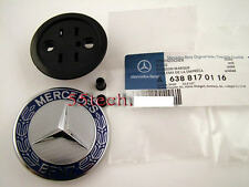Mercedes AUTHENTIC Flat hood emblem w211 w220 s500 e500