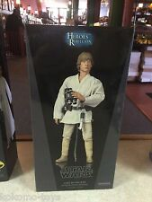 "Sideshow Collectibles Luke Skywalker Farm Boy A New Hope 12"" 1/6 Figure MIB"