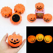 Jack-O-Lantern LED Pumpkin Plastic Night Light Halloween carnival Party Supply