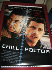 One Sheet Movie Poster/Orig.,CHILL FACTOR 1999-CUBA GOODING, JR.