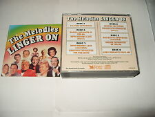 The Melodies Linger on Readers Digest 6 cd box set 122 tracks 1991 50s/60s pop
