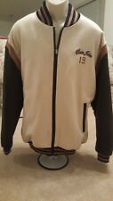 Sean John 1969 Collection Varsity Letterman Jacket with Leather Sleeve XL