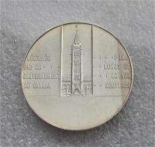 1960's Government of Canada Long & Efficient Service STERLING Silver Medal