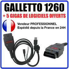 Câble / Interface GALLETTO 1260 + Logiciels ECUSAFE & IMMOKILLER- MPPS - COM VAG