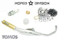 Tomos A55 70cc Airsal Cylinder & Biturbo Exhaust Kit LX, Sprint, ST