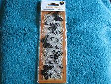 """Tampon continu """" Fiskars """"...Papillons...( FB/5575 )"""
