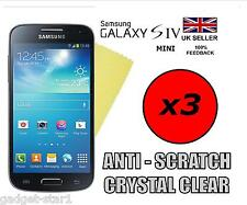 3x HQ CLEAR SCREEN PROTECTOR COVER GUARD FILM FOR SAMSUNG GALAXY S4 MINI i9190