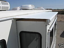 "RV CAMPER AWNING WHITE SLIDEOUT COVER FITS 74"" TO 79-3/4"" A & E NEW"