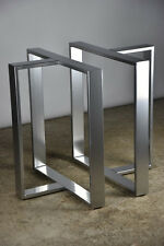 Stainless Steel Table Legs T-Shaped,Brushed Finish,Best Prices,Top Quality!!!