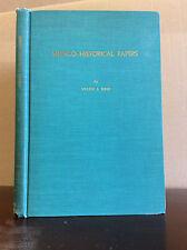 MEDICO-HISTORICAL PAPERS - Walter J. Meek. - 1954
