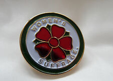 Suffragette Clover Badge Brooch Suffragettes Post Free Within UK
