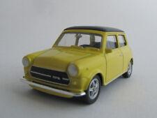 Welly Mini Cooper 1300/negro/amarillo/presión fundición Model/Nex models/1:60/ovp/neu