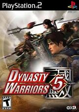 Dynasty Warriors 5 (Sony PlayStation 2, 2003) Manual no original cover