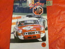 ENJOYING MG RIVISTA Giugno 2001 MGB LE MANS-SUONERIE & REPLICHE-RATTY-STOUR