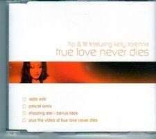 (DO32) Flip & Fill Featuring Kelly llorenna, True Love Never Dies - 2001 CD